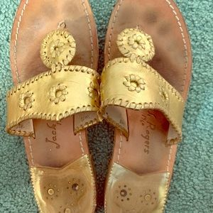 Used, Gold Jack Rogers - Match Everything!! ✨